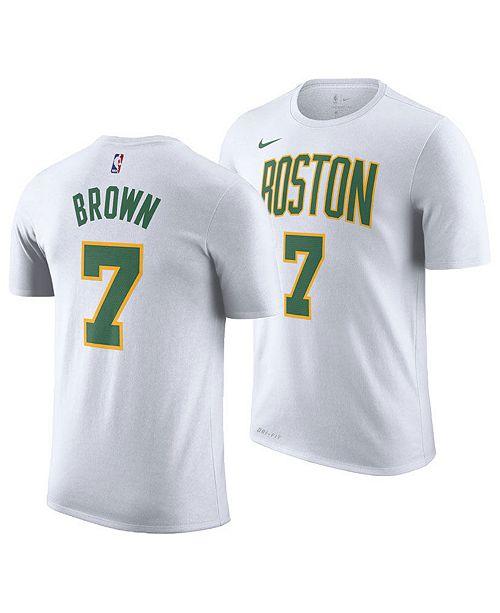 ... Nike Men s Jaylen Brown Boston Celtics City Player T-Shirt 2018 ... 84631993d