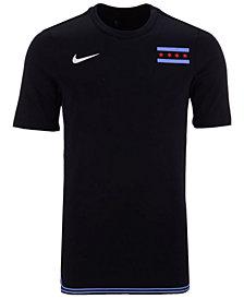 Nike Men's Chicago Bulls City Edition Shooting T-Shirt