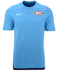 Nike Men's Oklahoma City Thunder City Edition Shooting T-Shirt