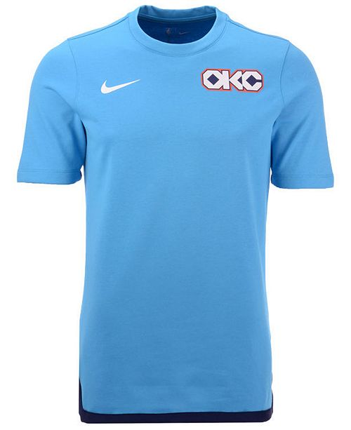 quality design 656ad bba52 Nike Men's Oklahoma City Thunder City Edition Shooting T ...