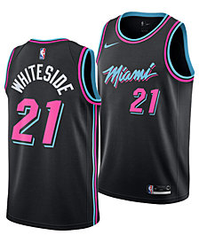 Nike Hassan Whiteside Miami Heat City Edition Swingman Jersey 2018, Big Boys (8-20)