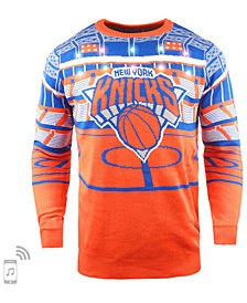 Forever Collectibles Men's New York Knicks Bluetooth Sweater