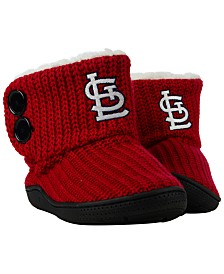 Forever Collectibles Women's St. Louis Cardinals Knit Two Button Boots