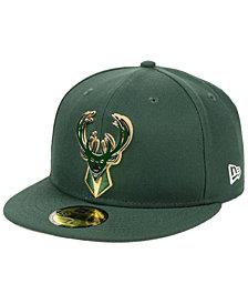 New Era Milwaukee Bucks Metal Mash Up 59FIFTY-FITTED Cap