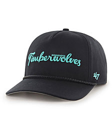 '47 Brand Minnesota Timberwolves Diamond Blue CAPTAIN Strapback Cap
