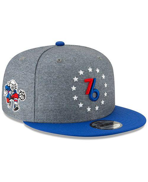 new style 35fd9 5103e New Era Philadelphia 76ers City Series 2.0 9FIFTY Snapback Cap ...