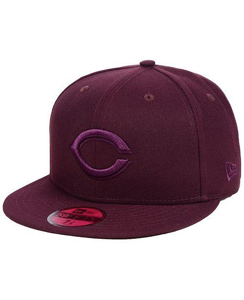 best loved f76e0 9832d ... New Era Cincinnati Reds Fall Prism Pack 59FIFTY-FITTED Cap ...