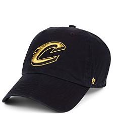 '47 Brand Cleveland Cavaliers Met Gold CLEAN UP Cap