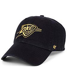 '47 Brand Oklahoma City Thunder Met Gold CLEAN UP Cap