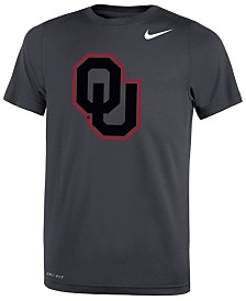 Nike Oklahoma Sooners Tonal Logo Color Pop T-Shirt, Big Boys (8-20)
