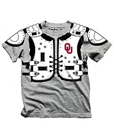 Oklahoma Sooners Shoulder Pads T-Shirt, Toddler Boys (2T-4T)