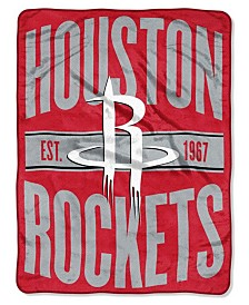 Northwest Company Houston Rockets Micro Raschel Clear Out Throw Blanket