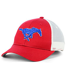 Zephyr Southern Methodist Mustangs Big Rig Mesh Snapback Cap