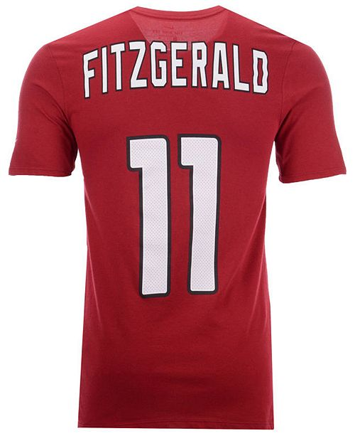 fcdccff3 Men's Larry Fitzgerald Arizona Cardinals Pride Name and Number Wordmark  T-Shirt