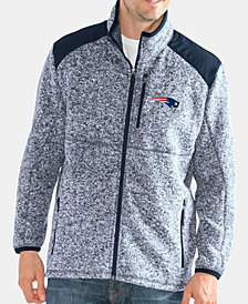 G-III Sports Men's New England Patriots Back Country Player Front Zip Jacket