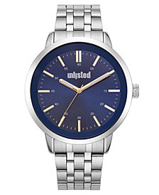 Unlisted Men's Silvertone Alloy Sport Watch, 44MM