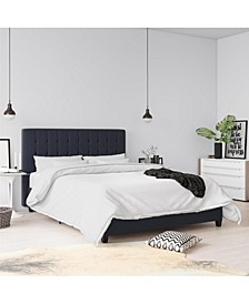 Elvia Full Upholstered Bed  Linen
