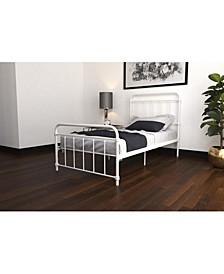 EveryRoom Wyn Twin Metal Bed