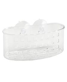 Bath Bliss Compact Suction Bath Basket