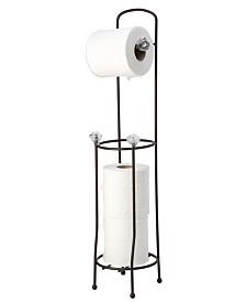 Bath Bliss Toilet Paper Organizer and Dispenser