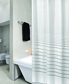 Bath Bliss Shower Curtain Stripe Design