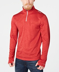 Hi-Tec Men's Phantom Space Dye Half Zip Pullover