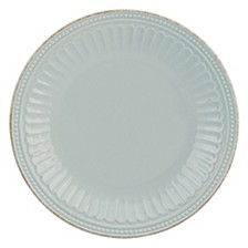 French Perle Groove Collection Accent Plate