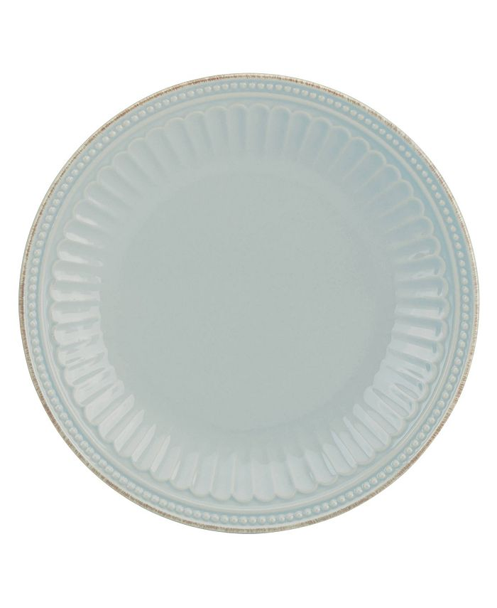 Lenox - French Perle GROOVE Accent Plate - White