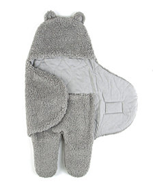 Tadpoles Super Soft Plush Sherpa Swaddle Wrap