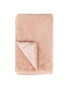 Tadpoles Faux Fur Plush Baby Blanket