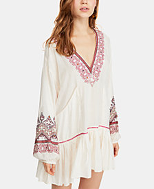 Free People Embroidered Peasant Dress
