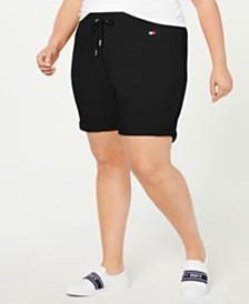 Tommy Hilfiger Sport Plus Size Cuffed Shorts