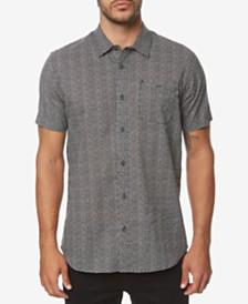 O'Neill Men's Eureka Modern-Fit Geo-Print Shirt