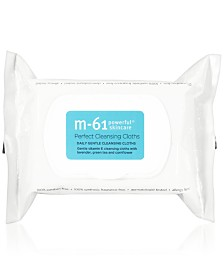 m-61 by Bluemercury Perfect Cleansing Cloths, 30-Pk.