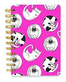 Kitty Cats Spiral Mini Notebook