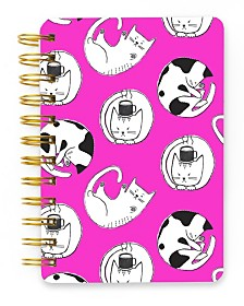 Mara-Mi Kitty Cats Spiral Mini Notebook