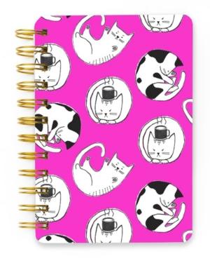 Mara-Mi Kitty Cats Spiral Mini Notebook