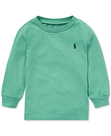 Polo Ralph Lauren Baby Boys Long-Sleeve Cotton T-Shirt