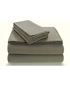 Flannel Extra Deep Pocket Twin Sheet Set