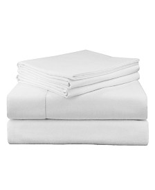 Pointehaven Luxury Weight Flannel Sheet Set Queen