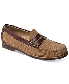 Bass by Ron Bass Men's Carson Corduroy Loafers