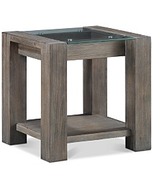 Sava End Table, Created for Macy's