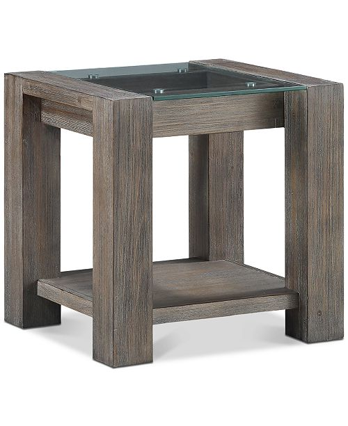 Furniture CLOSEOUT! Sava End Table, Created for Macy's