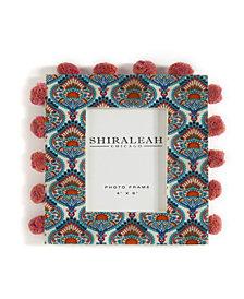 Shiraleah Peacock Print Frame