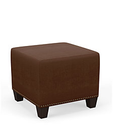 Skylands Collection Mona Square Ottoman, Quick Ship, Created for Macy's