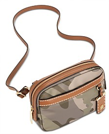 Tommy Hilfiger Julia Convertible Camo Belt Bag