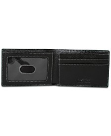 Buxton Men's Leather Slimfold Wallet
