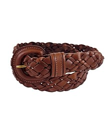 Accessories Braided Buckle Belt