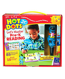 Educational Insights Hot Dots Jr Let's Master Pre-K Reading Set With Ace Pen