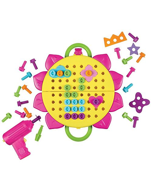 Learning Resources Educational Insights Design and Drill Flower Power Studio